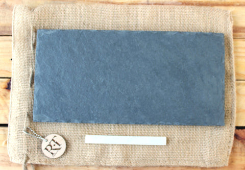 Gray Slate Cheese Plate | Assorted Sized