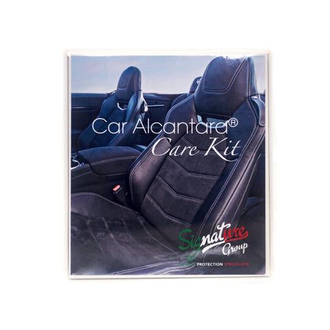Premium Italian Car Alcantara Care Kit