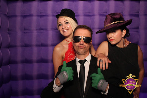 #GIMAawards2016 Briers Greenfingers photobooth pic