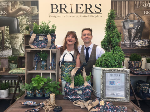 Briers stand EA476 at RHS Chelsea Flower Show 2016 Press Day