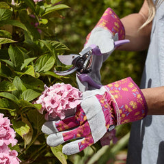 Briers Signature Collection Oriental Floral Rigger Gloves