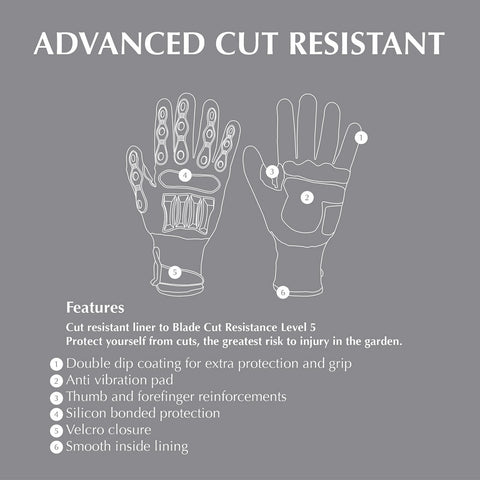 Briers Advanced Cut Resistant Gloves Features Guide