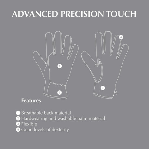 Briers Advanced Precision Touch Gloves Features Guide