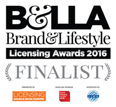 Brand & Lifestyle Licensing Awards 2016 finalist