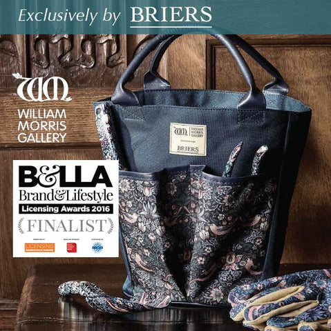 Briers William Morris Strawberry Thief Collection Finalist for Brand & Lifestyle Licensing Awards 2016