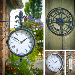 Briers new range of indoor and outdoor clocks, thermometers and weather stations