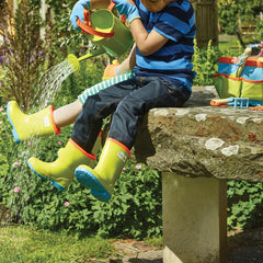 Briers Kids Wellington Boots, Watering Can and Garden Tool Bag