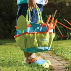 Briers Kids Garden Tool Bag and Kids Clogs
