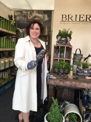 RHS Chelsea 2016 Press Day celebrity #gluvie Naomi Slade