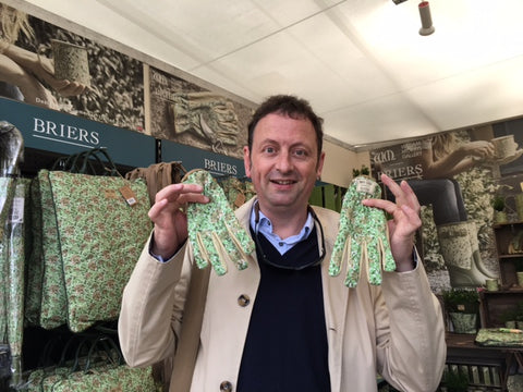 RHS Chelsea 2016 press day celebrity #gluvie Matthew Allwright