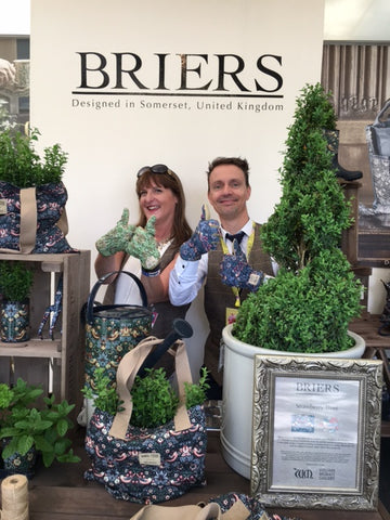 Briers 2016 RHS Chelsea Flower Show #gluvie