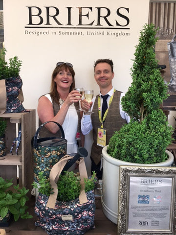 Briers 2016 RHS Chelsea Stand celebrating its launch!