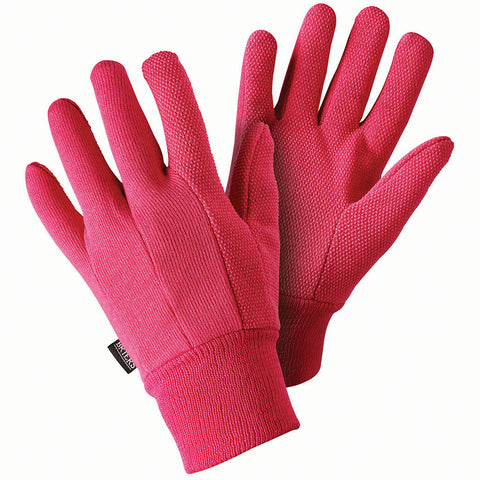 Jersey Mini Grip Pink Gloves - Briers