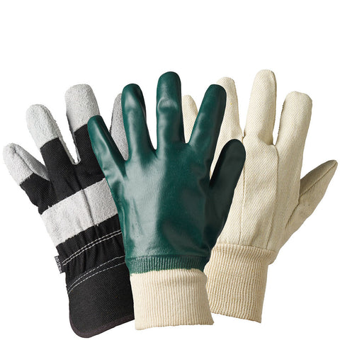 Mens Mixed Triple Pack Gloves - Briers