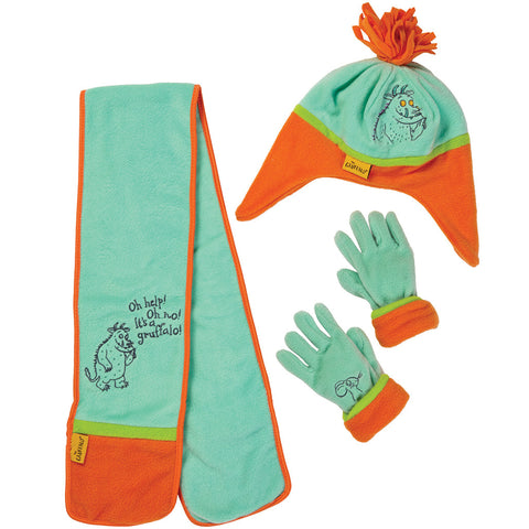The Gruffalo Hat, Gloves & Scarf Set - Briers