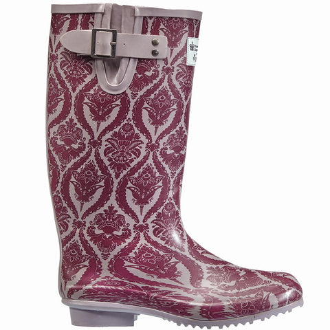 Historic Royal Palaces Baroque Rubber Wellington Boots - Briers