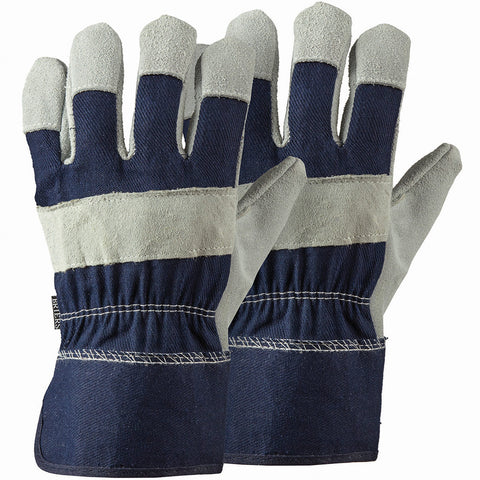 Navy Rigger Twin Pack Gloves - Briers