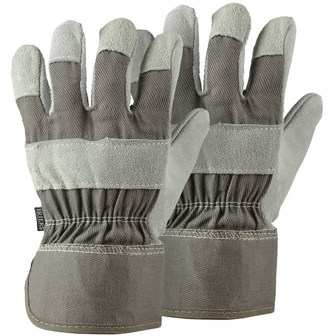 Grey Rigger Twin Pack Gloves - Briers
