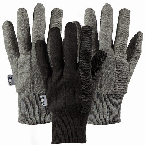 Mens Jersey Triple Pack Gloves - Briers