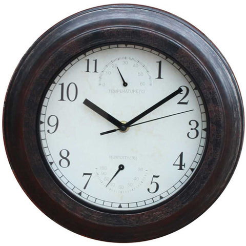 Bronze Effect Clock - Briers