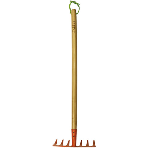 Kids Wooden Handle Soil Rake - Briers