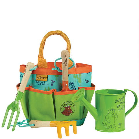 The Gruffalo Garden Tool Bag Set - Briers