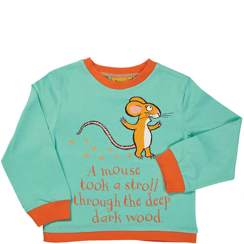 The Gruffalo Mouse Long Sleeve T-Shirt - Briers