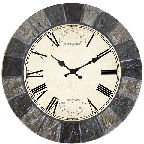 Malborough Clock 25cm - Briers