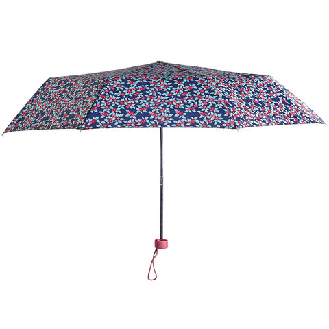 Plum Floral Umbrella - Briers