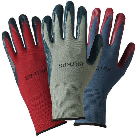 Ladies 2 Tone Triple Seed & Weed Triple Pack Gloves - Briers