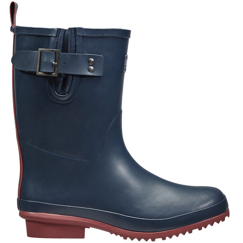 Half Rubber Wellington Boots Navy - Briers