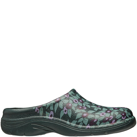 Plum Floral Clogs - Briers