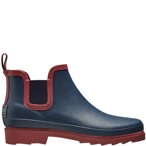 Chelsea Rubber Wellington Boots Navy - Briers