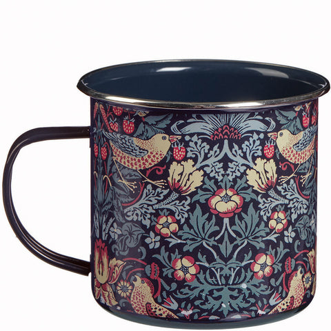 William Morris Strawberry Thief Metal Mug - Briers  - 1