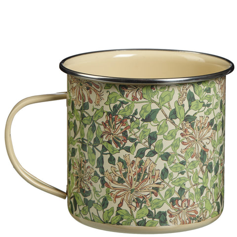 William Morris Honeysuckle Metal Mug - Briers  - 1
