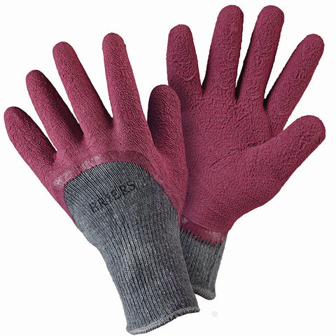 Warm All Seasons Gardener Claret Gloves - Briers