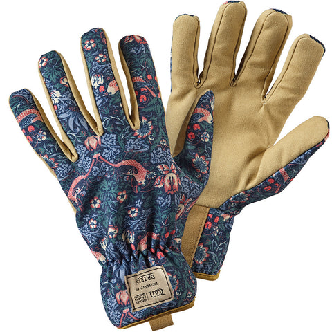 William Morris Strawberry Thief Gardeners Gloves - Briers  - 1