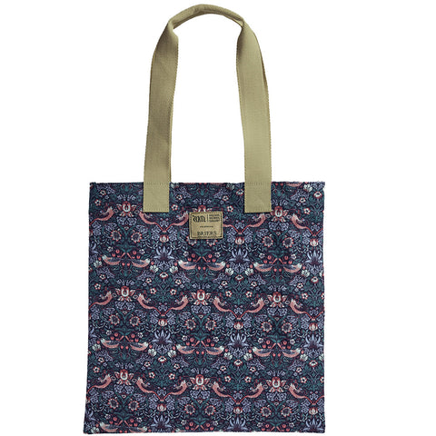 William Morris Strawberry Thief Tote Bag - Briers  - 1