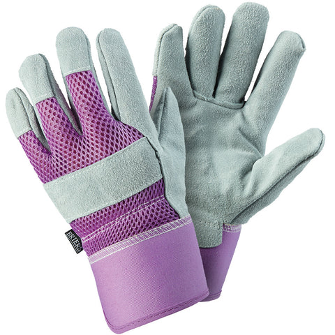 Ladies Rigger Lavender Gloves - Briers