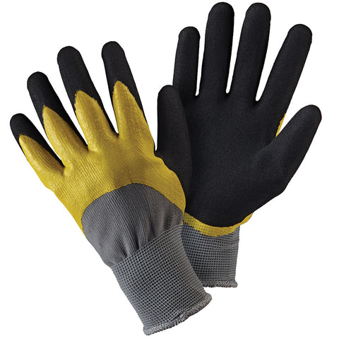 Double Dip Yellow & Black Gloves - Briers