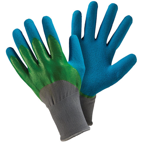 Double Dip Green & Blue Gloves - Briers