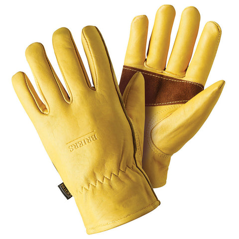 Premium Golden Leather Gloves - Briers