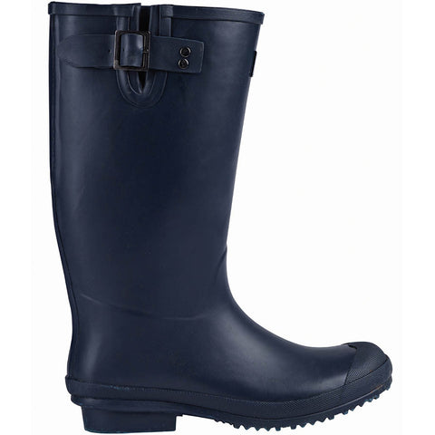 Rubber Wellington Boots Navy - Briers