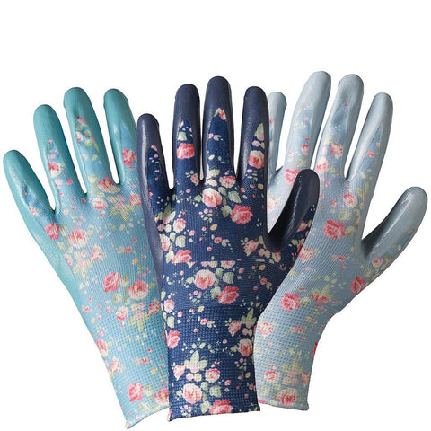 Julie Dodsworth Flower Girl Seed & Weed Triple Pack Gloves - Briers