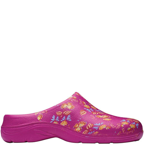 Oriental Floral Clogs - Briers