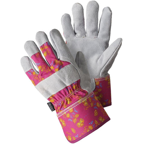 Oriental Floral Rigger Gloves - Briers