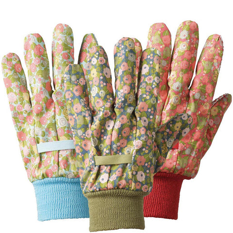 Julie Dodsworth Orangery Cotton Triple Pack Gloves - Briers