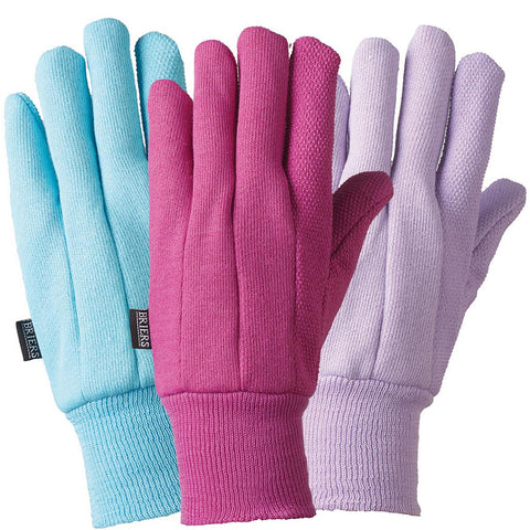 Birds & Branches Jersey Plain Colour Triple Pack Gloves - Briers