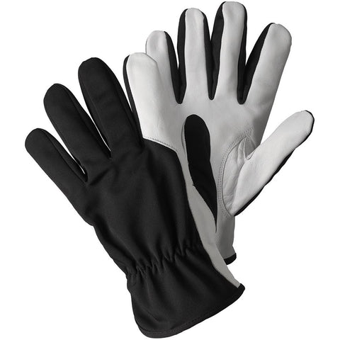 Super Soft & Strong Leather Gloves Black - Briers