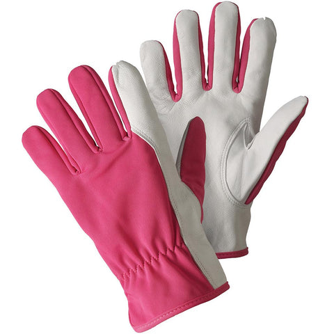 Super Soft & Strong Leather Gloves Magenta - Briers